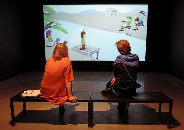 Videoverket Players av Pilvi Takala på Bonniers Konsthall
