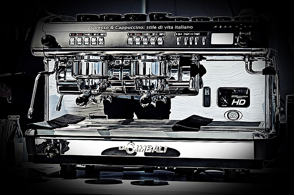Kaffemaskinen på Barista Cup