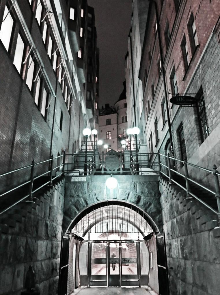 Brunkebergstunneln/Tunnelgatan