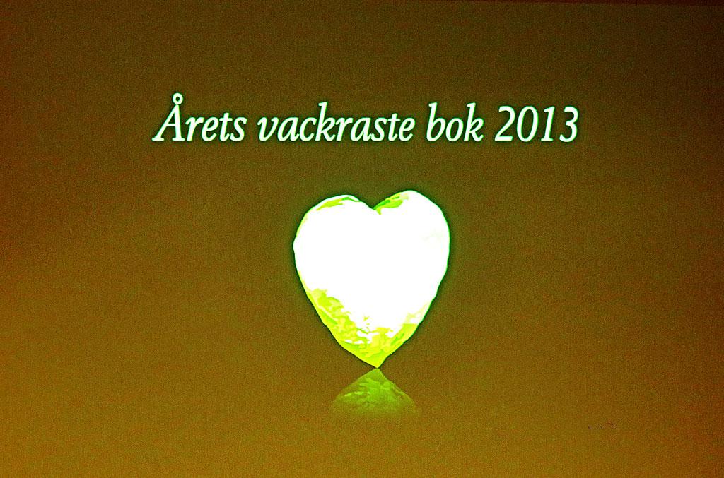 Prisutdelning vid Årets vackrast böcker vid Svensk Bokkonst 2014