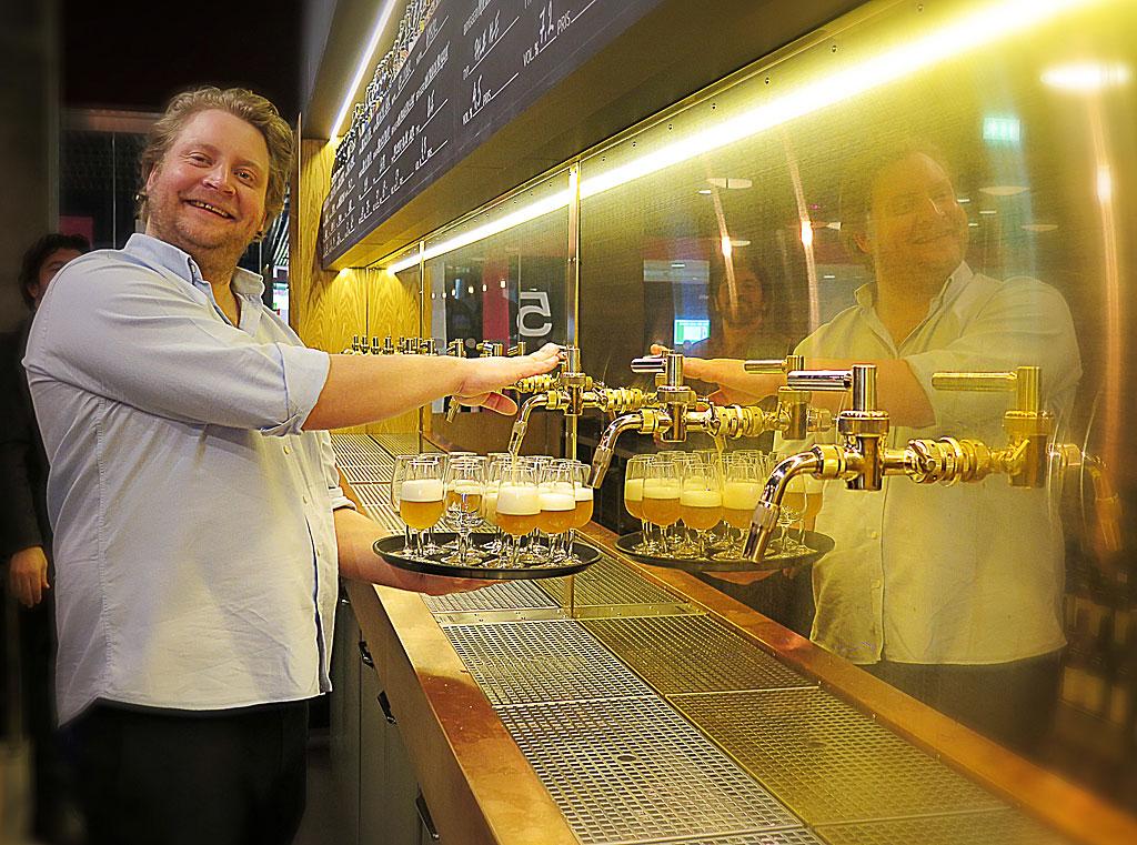 Printz öpnnar Ölhall i Tolv Stockholm