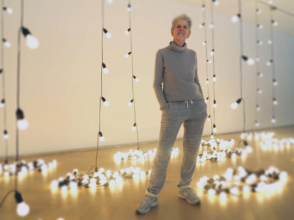 Elaine Sturtevant på Moderna Museet