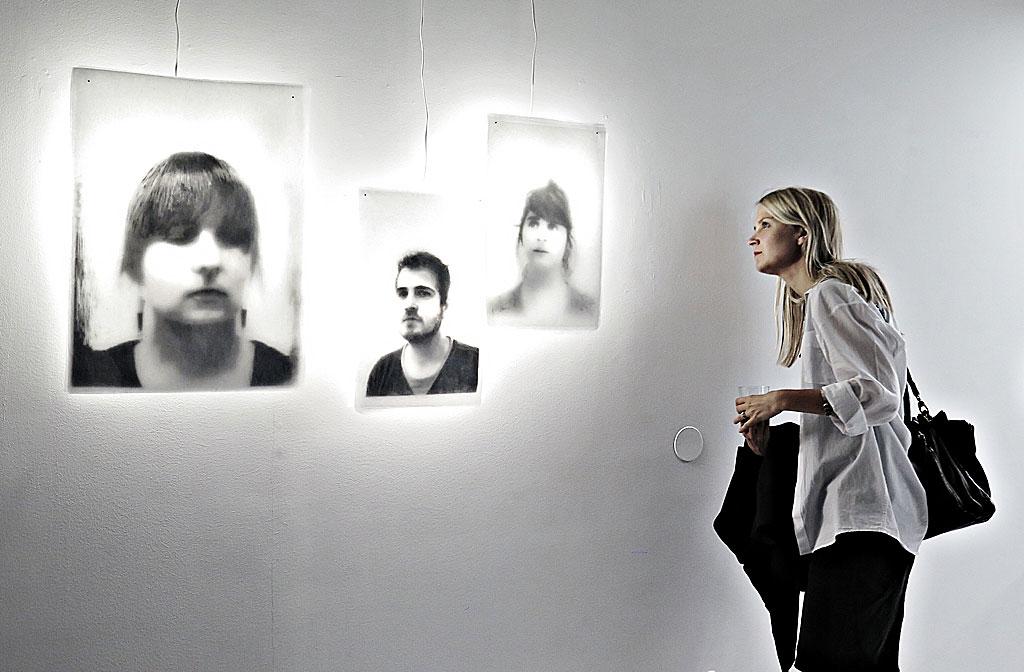 Sanna Kumpulainen på Fotografins Hus