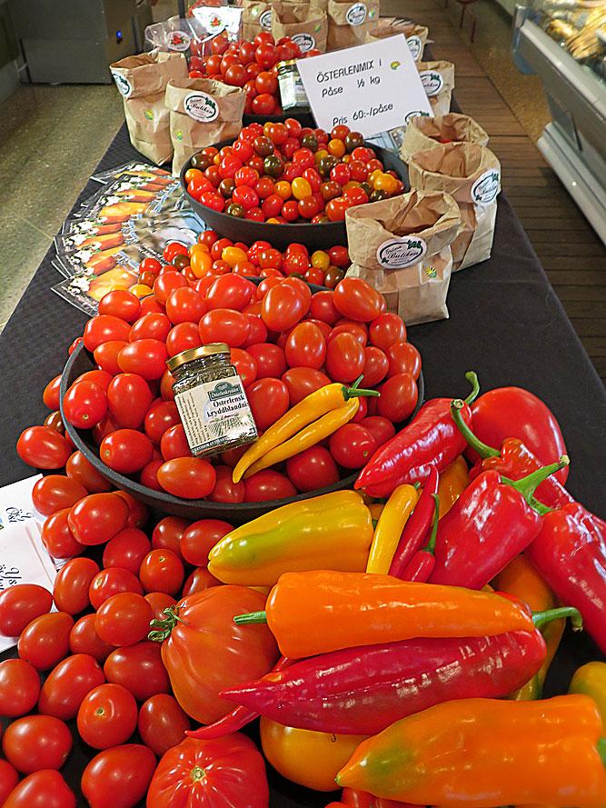 Tomater på 7 årstider – 9 regioner: Österlen på Taverna Brillo
