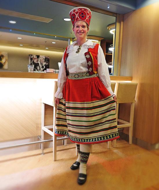 Estland firar sin 97:e nationaldag på Tallink Silja Lines M/S Romantika