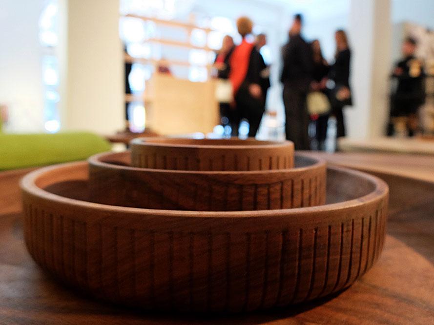 Träsnideri av Zanat under Stockholm Design Week 2015