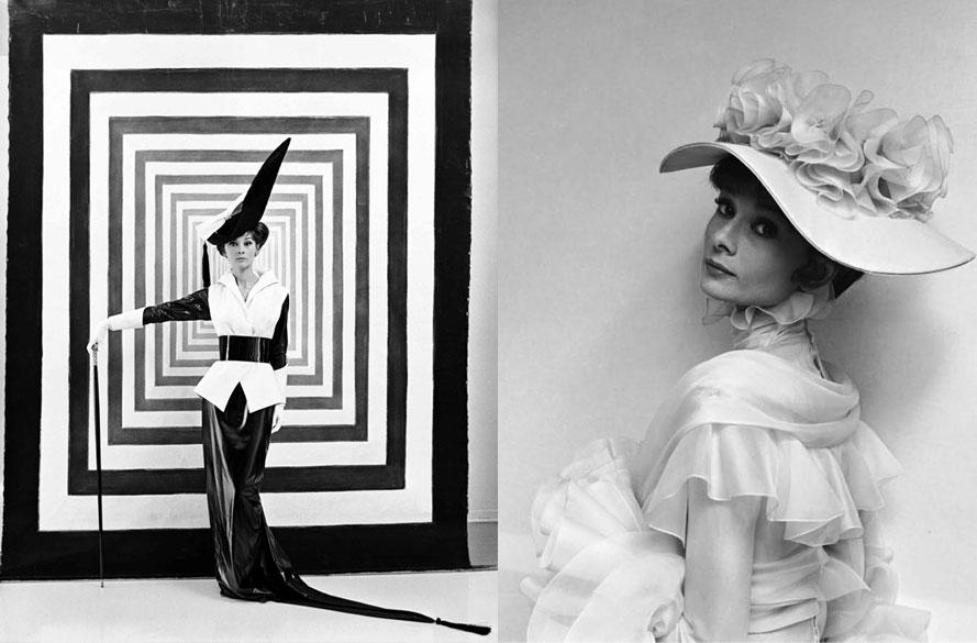 Audrey Hepburn som Eliza ur filmatiseringen av My Fair Lady (1956). Stylad och fotad av Sir Cecil.