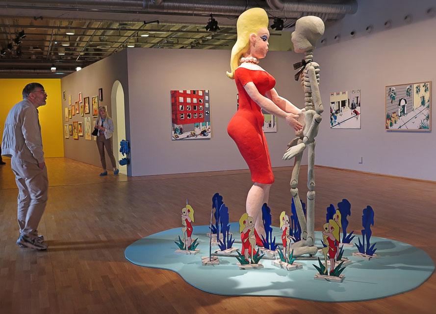 Utställningen Kristina Abelli Elander – Superbruden, Kulturhuset Stadsteatern
