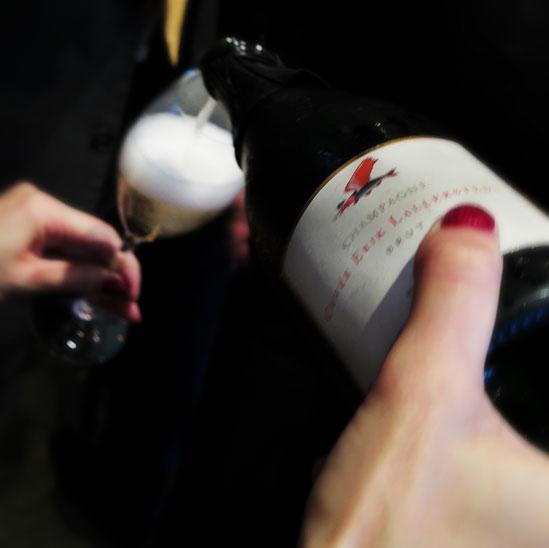 Champagne Cuvée Erik Lallerstedt