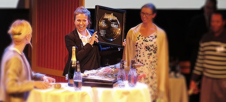 Jeanette Linder är Årets Servitör 2015, Restauranggalan
