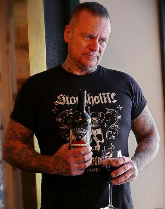 Sådant vin, sådan man – Jukka Rohkea, Stockholm Ink Bash