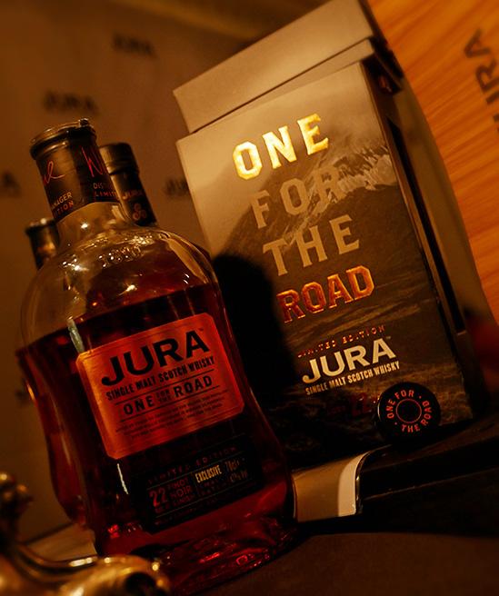 Lansering av Jura One For The Road Whisky