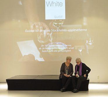 Release för White Guide Stockholm 2016–17 på A house Stockholm