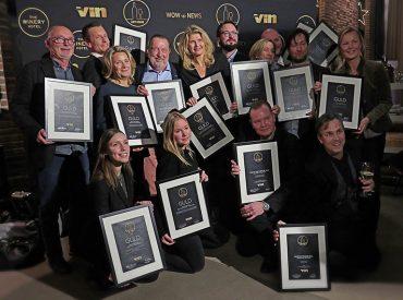 Alla Årets Vinare 2016 vid Allt om Vins prisutdelning på The Winery Hotel