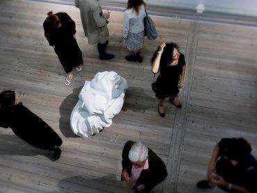 Margarita Bergfeldt Matiz och Karin Sahlins skulptur på SEART 2016