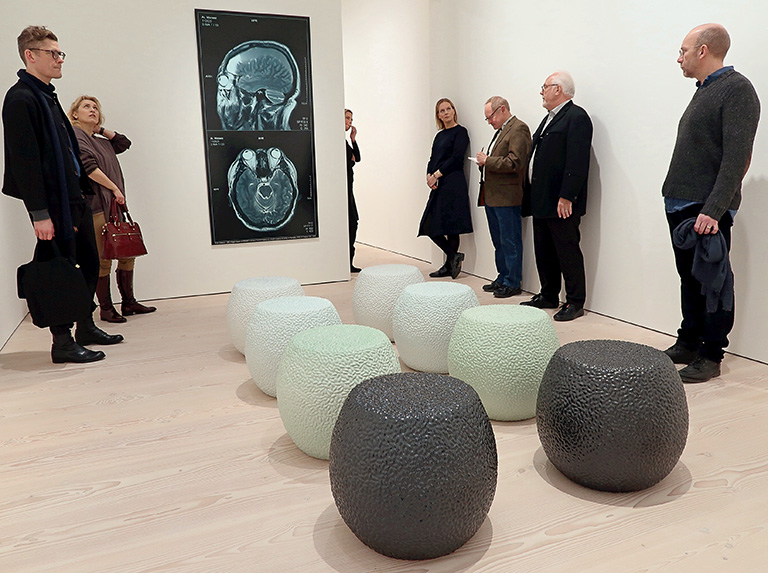 Ai Weiwei – Tyre på Galerie Forsblom: Ci Dun & Brain Inflation