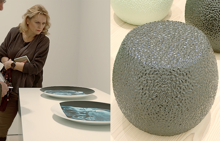 Ai Weiwei – Tyre på Galerie Forsblom: Ci Dun & Brain Plates