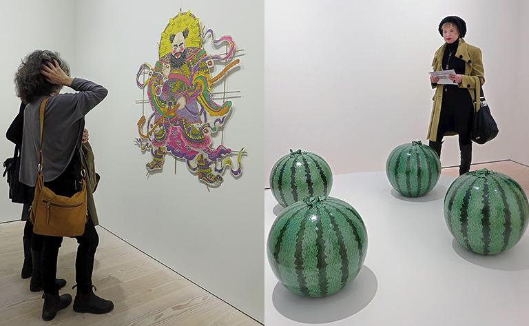 Ai Weiwei – Tyre på Galerie Forsblom: Men Shen Kite & Watermelon
