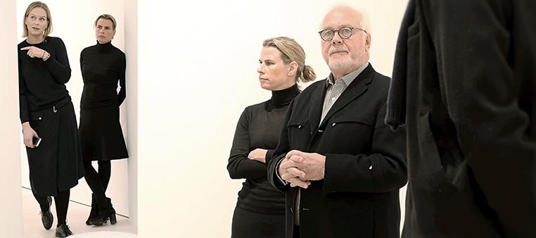 Kaj Forsblom, Anna Persson och Ebba Bozorgnia – galleristerna på Galerie Forsblom Stockholm