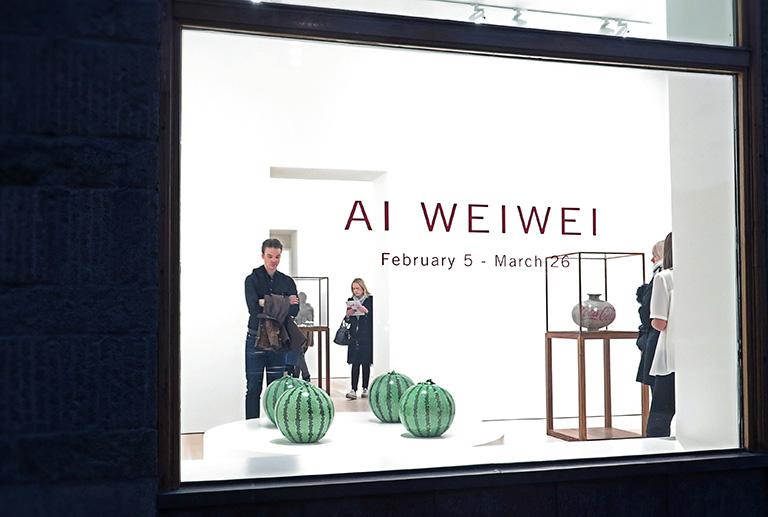 Ai Weiwei – Tyre på Galerie Forsblom