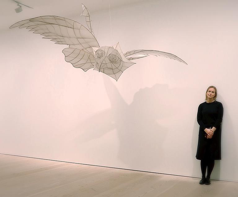 Ai Weiwei – Tyre på Galerie Forsblom: draken Quiyuan