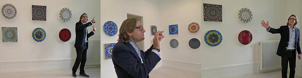 Paul McCabe, McCabe Fine Art, presenterar utställningen Damien Hirst – The Psalms