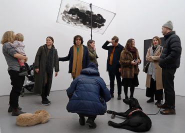 Sofia Ekströms konst på Galleri Riis Stockholms sista utställning
