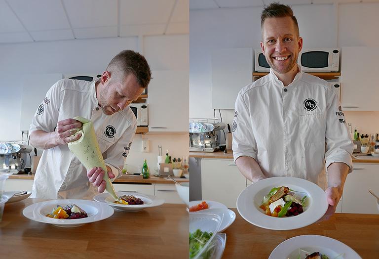 Mattias Larsson, Fredagskocken lagar mat hos Oenoforos