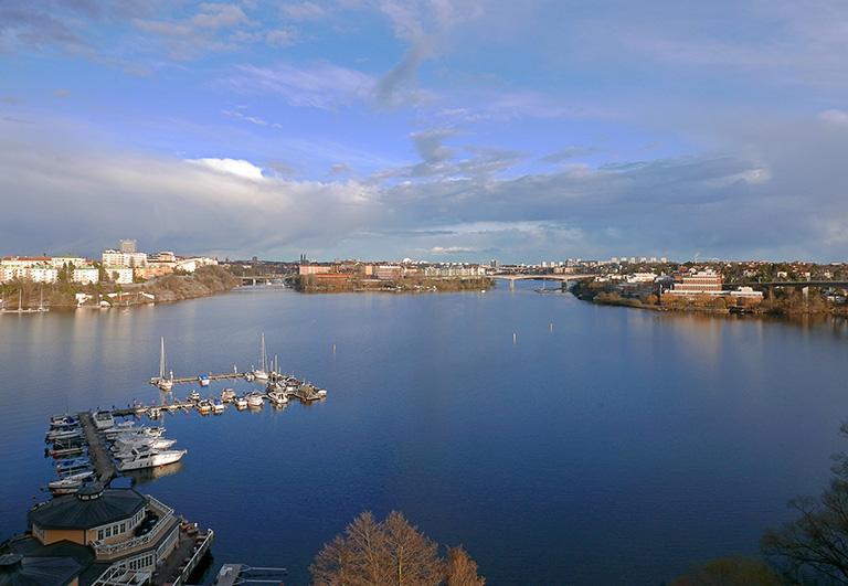 Utsikt från Alviks Torn