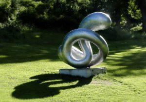 Skulpturen Nod av Eva Hild på Djurgården