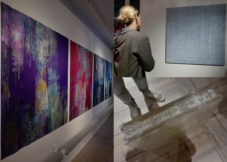 """Martina Skyttberg """"Över isen"""" / Kasper Nordenström Jung """"Paynes Gray"""" / Gabriella Loeb / SEART 2017"""