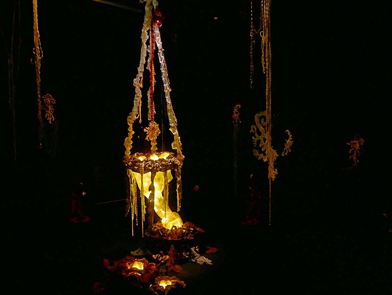 Anna Slamova – Den spöklika tjänsten, Konstfacks vårutställning 2018
