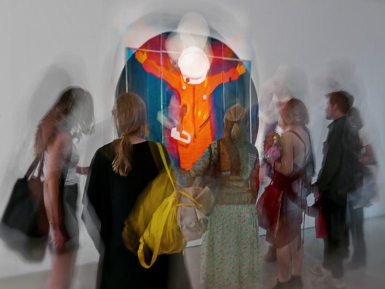 Filippa Wikner – I see no God up here, Kungl. Konsthögskolans vårutställning 2018, Konstakademien