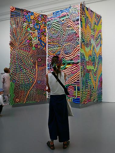 Olivia Petterson Fleur – Digi Matter Super Touch, Kungl. Konsthögskolans vårutställning 2018, Konstakademien