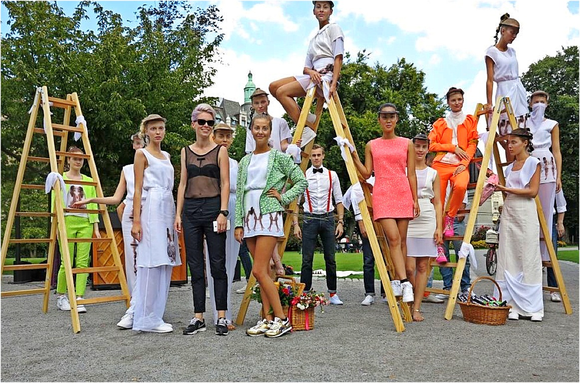 Modekollektion av och med Jenny Grettve