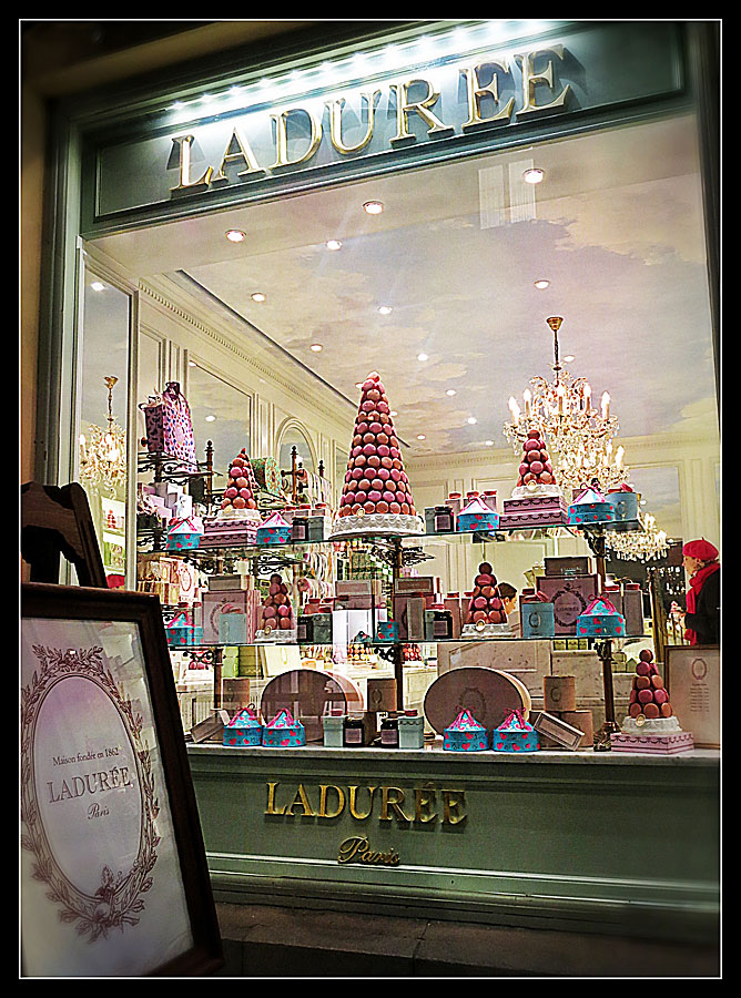Ladurée / Franska accenter