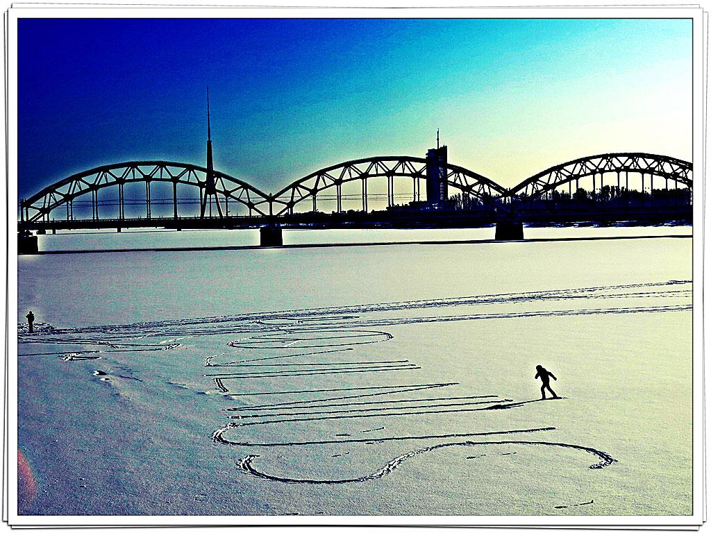 Vinter i Riga