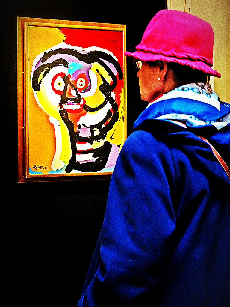 Karel Appel på Stockholms Auktionsverk Moderna