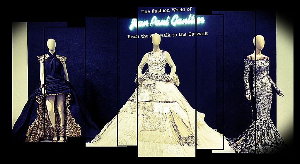 Utställningen The World of Jean Paul Gaultier – From the Sidewalk to the Catwalk på ArkDes