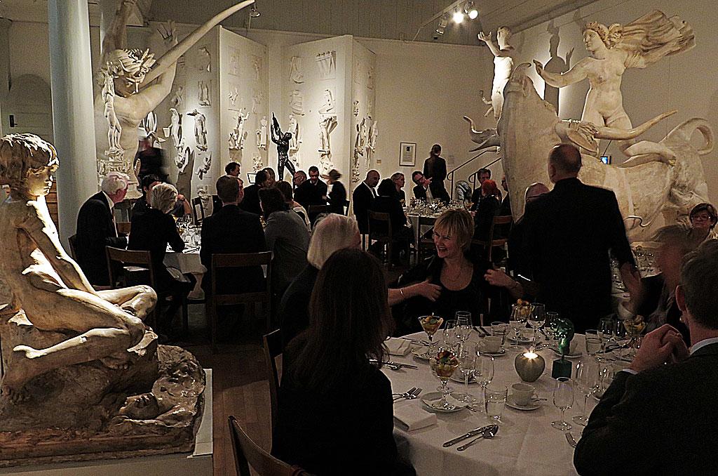 Man Ray-middag på Millesgården
