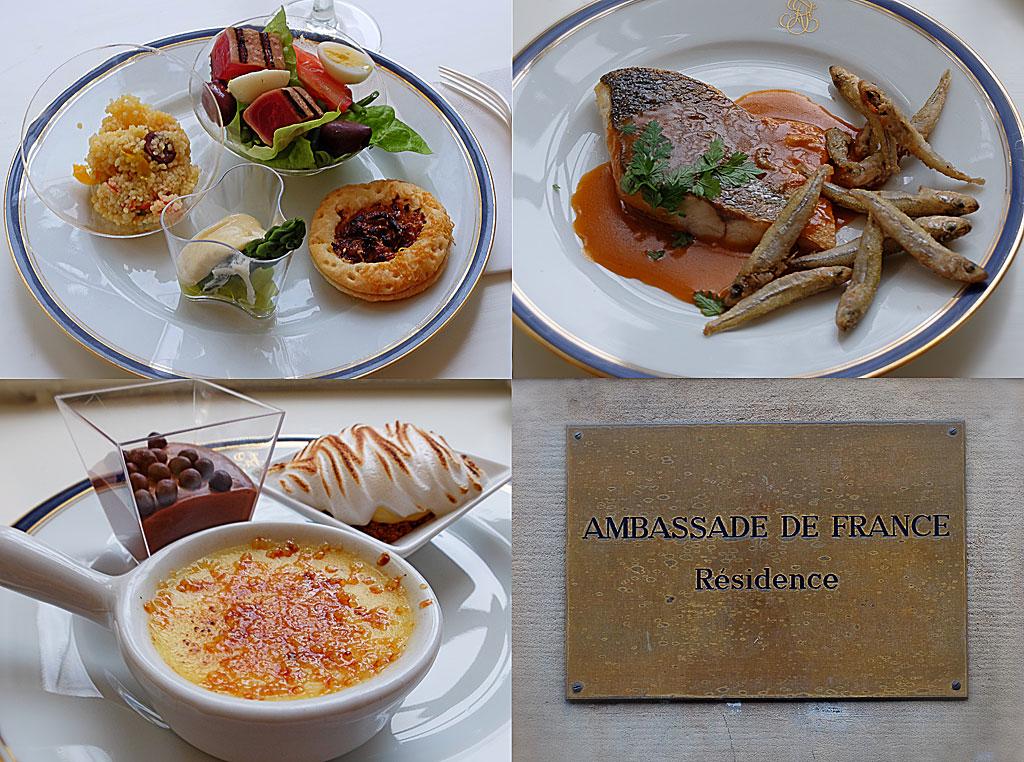 Rivieralunch / Côte-d'Azur-lunch / Fransk ambassadlunch / Ambassade de France Résidence, Stockholm
