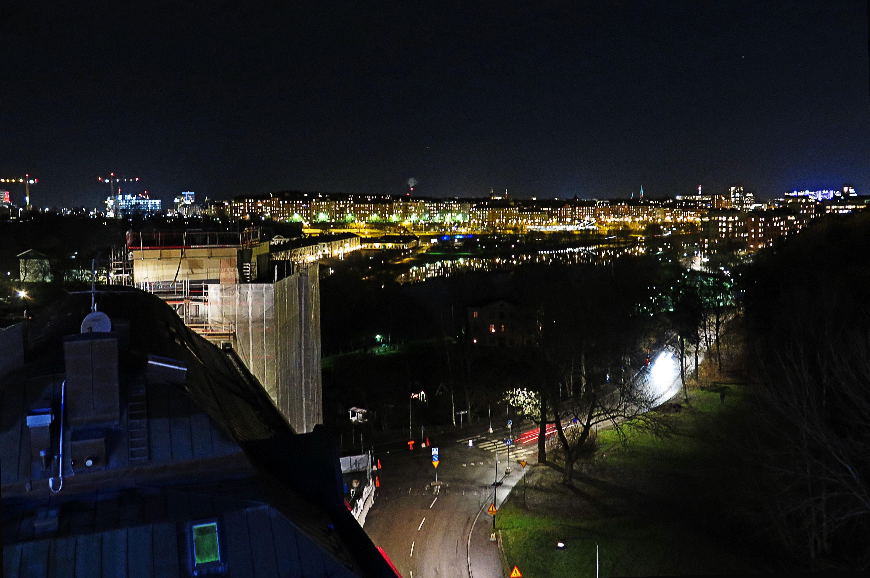Utsikt från Stadshagen