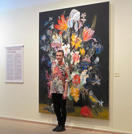 Utställningen Älskade blommor på Millesgården