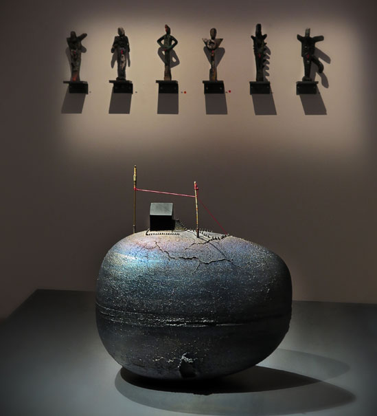 Utställningen Bertil Vallien – Core på Edsvik Konsthall