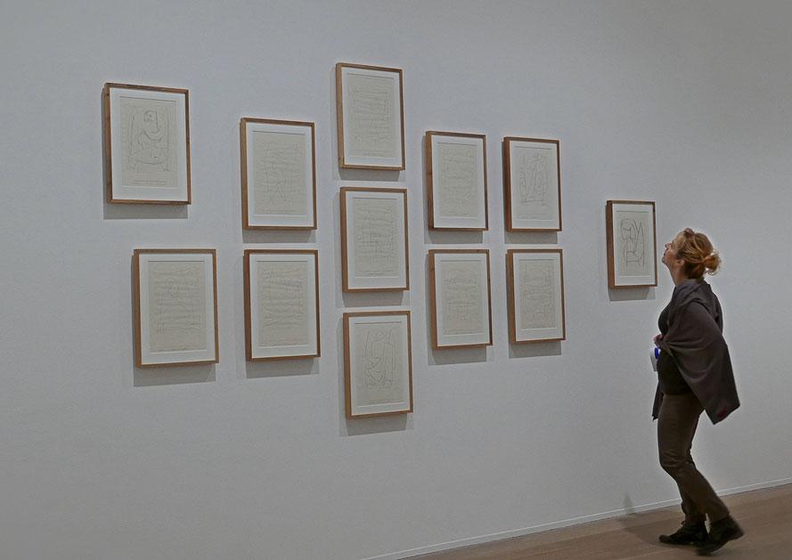 Utställningen Klee/Aguéli på Moderna Museet