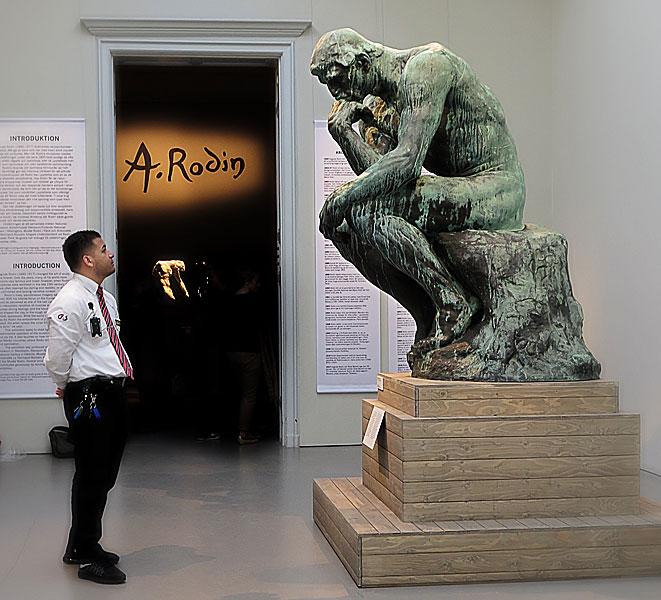 Auguste Rodin, Nationalmuseum ℅ Konstakademien