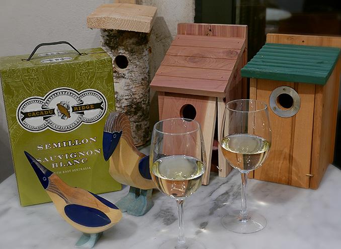 Lansering av vinboxen Cacadu Ridge Sémillon Sauvignon Blanc 2016 på Taverna Brillo